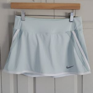 Nike Dri Fit Tennis/Golf Skirt Skort Celery Green